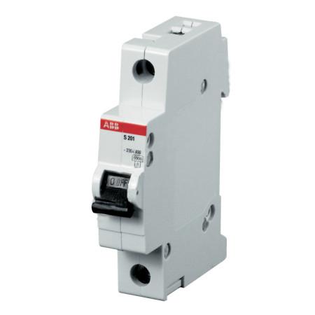 ABB S201 Автоматический выключатель 1P 0,5А (C) 6kA