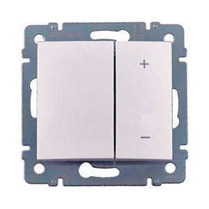 Светорегулятор кнопочный Valena 60-600Вт (белый)