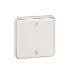 Выключатель Plexo двухполюсный IP55 (белый)