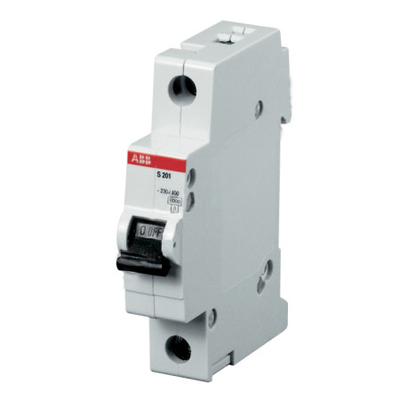 ABB S201 Автоматический выключатель 1P 1,6А (C) 6kA