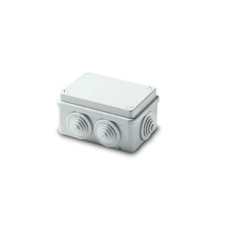 ABB Коробка распределительная герметичная с вводами пласт.винт 105х70х50 IP55