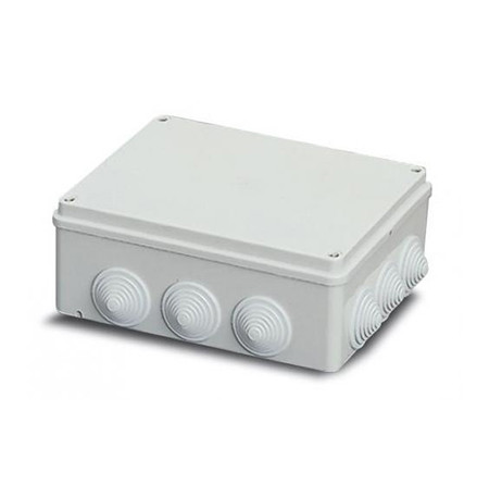 ABB Коробка распределительная накладная с коническими сальниками 220х170х80 IP 55