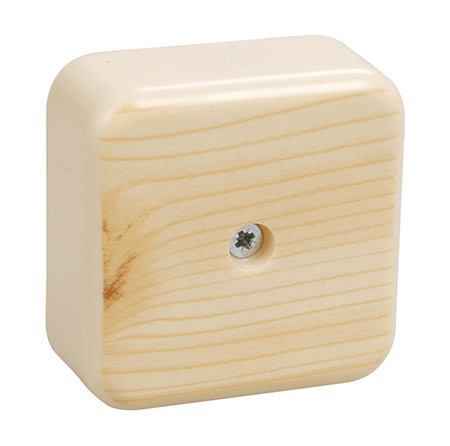 Коробка КМ41222-04 расп. для о/п 100х100х44 сосна (с к/гр.)