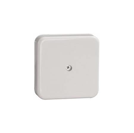 Коробка КМ41219 распаячная для о/п 100х100х29мм белая(с контактной группой)