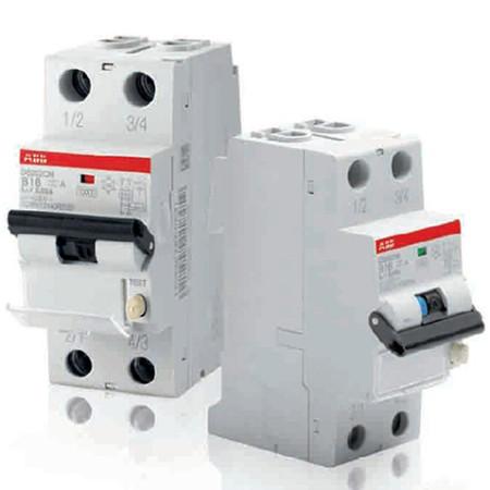 ABB DS201 L Дифференциальный автоматический выключатель C10 AC300