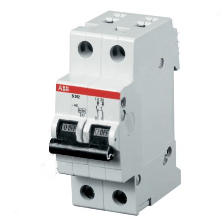 ABB S202 Автоматический выключатель 2P 32А (С) 6kA