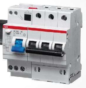 ABB DS203 M Дифференциальный автоматический выключатель 5мод.25А 30mA (A)