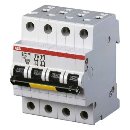 ABB S203 Автоматический выключатель 3P+N 32А (С) 6кА