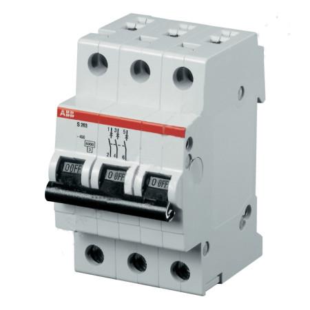 ABB S203 Автоматический выключатель 3P 63А (С) 6kA