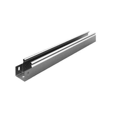 OSTEC ЛНМЗТ(М)-100х100пр Металлический лоток неперфорированный 100х100х2500