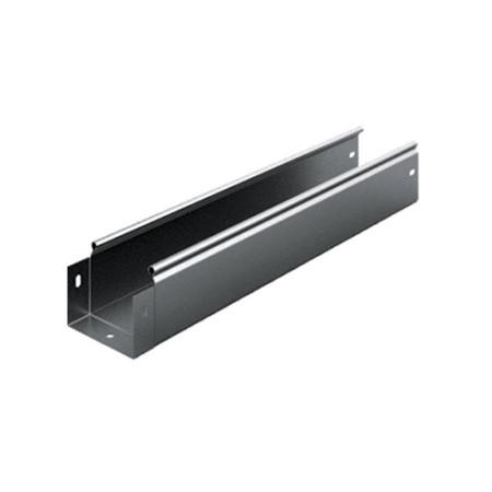 OSTEC ЛНМЗТ(М)-100х80пр Металлический лоток неперфорированный 100х80х2500