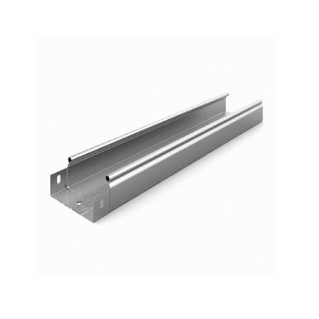 OSTEC ЛНМЗТ(М)-200х80пр Металлический лоток неперфорированный 200х80х2500
