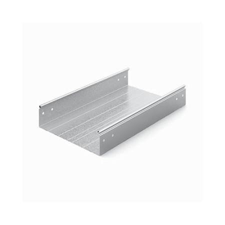 OSTEC ЛНМЗТ(М)-400х80пр Металлический лоток неперфорированный 400х80х2500