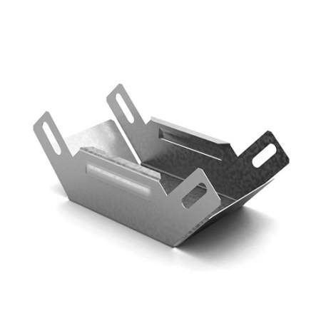 OSTEC УСВН-50х50 Угловой соединитель внутренний к лотку 50х50