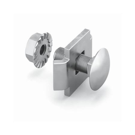OSTEC СПЛО20 Соединитель проволочного лотка 20 одинарный (крепежный комплект)