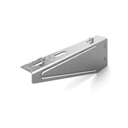 OSTEC КНПЛБ-100 Кронштейн настенный для проволочного лотка безвинтовой 100 мм