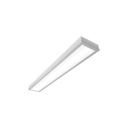Светодиодный светильник ВАРТОН Премиум V-A1-260-036-3950K аварийный универсальный 1195*180*50 36 Вт чистый белый