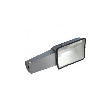 Консольный светильник ЖКУ 28 250 Вт Е40 IP53 с плоским стеклом под лампу ДНАТ