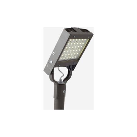 Консольный светодиодный светильник 50W 4700-6500K 3400lm IP65 серый