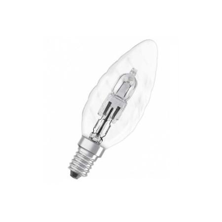 Лампа галогенная свеча витая Osram 30W (40W)