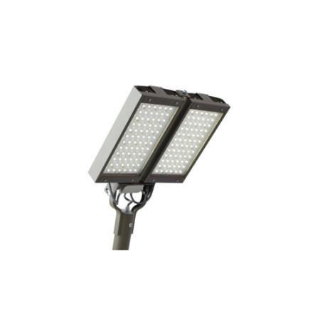 Консольный светодиодный светильник 190W 4700-6500K 13600lm IP65 серый