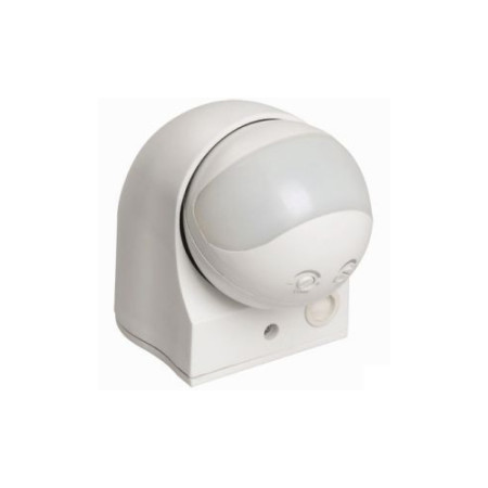 Датчик движения ДД 010 белый, макс. нагрузка 1100Вт, угол обзора 180град