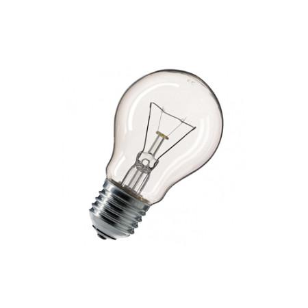 Лампа накаливания 40W E27 прозрачная