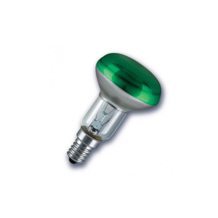 Лампа зеркальная Osram R50 40W E14 Green