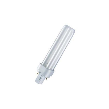 Лампа Osram Dulux D 10W/41-827 G24d-1 теплая