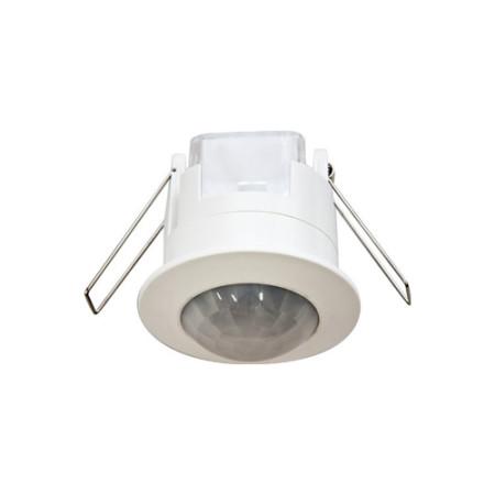 Датчик движения потолочный встраиваемый 1200W 6m 360° белый