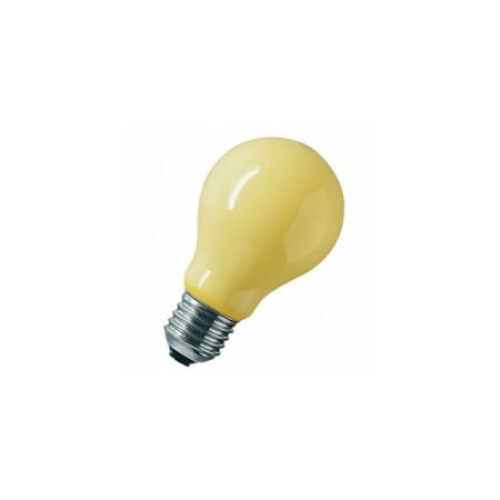 Лампа не привлекающая насекомых Osram 60W E27 желтая